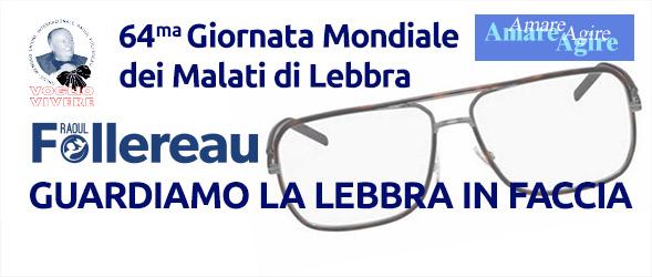 64ma Giornata Mondiale dei Malati di Lebbra